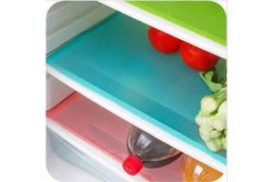 Антибактеріальні килимки для холодильника 45x29 см (4 шт)
