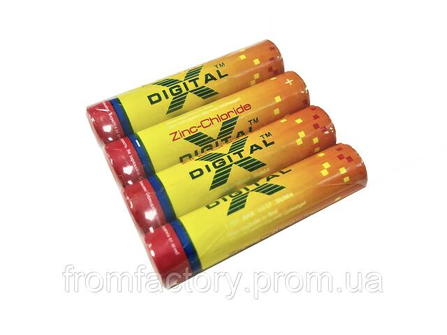 купить бу Батарейка мини-пальчиковая Digital-Х (R03 AAA 1.5V) в Харькове
