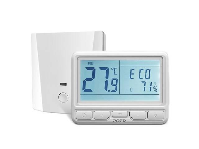бу Беспроводной термостат Poer PTC16 с терморегулятором для теплого пола, электрокотла или конвектора (100404) в Киеве