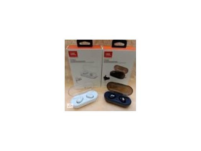 Беспроводные Bluetooth наушники JBL TWS-4, блютуз гарнитура с зарядным кейсом