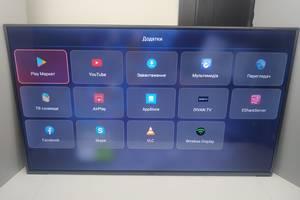 "Большой телевизор Prestigio 50"" Smart TV, Ultra HD 4K, WiFi, DVB-T2"