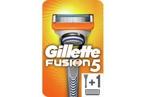 Бритва Gillette Fusion5 с 2 сменными картриджами (7702018874125/7702018866946)