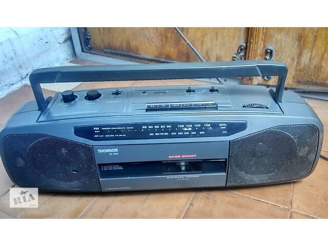 Бумбокс Thomson TM7600(Магнитола Рекордер-Проигрыватель.Радио УКВ-СХ)- объявление о продаже  в Львове