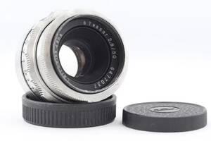 Carl Zeiss Jena Tessar 2.8/50mm (M42) 8 лепестков диафрагмы!