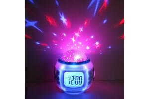 Годинники Supretto& ndash; музичний проектор зоряного неба (C245)