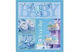 Детский фотоальбом EVG 20SHEET BABY COLLAGE W/BOX 6239792 синий