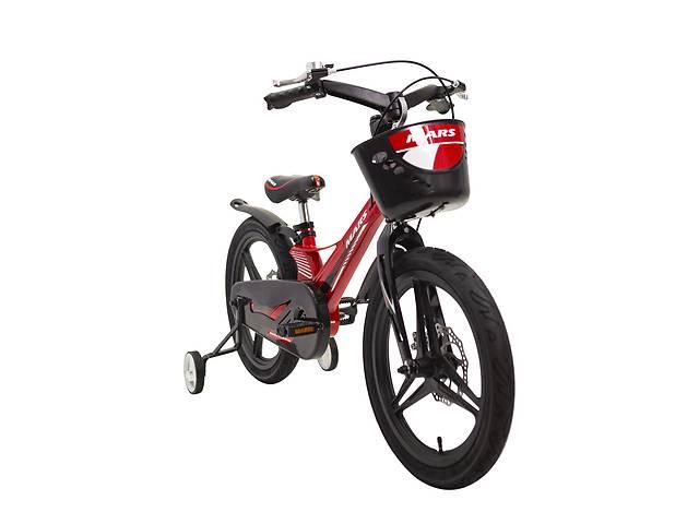 продам Детский легкий магниевый велосипед со складным рулем MARS 2 Evolution -18 дюймов  от 8 лет Красный бу в Киеве