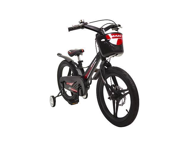 продам Детский легкий магниевый велосипед со складным рулем MARS 2 Evolution -18 дюймов  от 8 лет Черный бу в Киеве