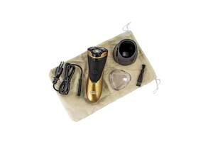 Электрическая мужская электробритва для бороды Rotex 225 роторная аккумуляторная электро бритва для мужчин