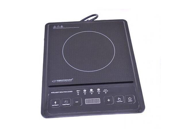 Электроплита индукционная стеклокерамическая Esperanza EKH005 2000W Black (005281)- объявление о продаже  в Киеве