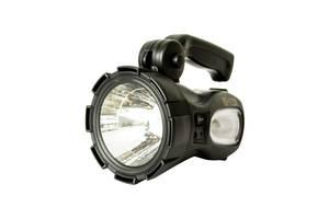 Мощный светодиодный аккумуляторный фонарь прожектор ZUKE переносной фонарь для охраны