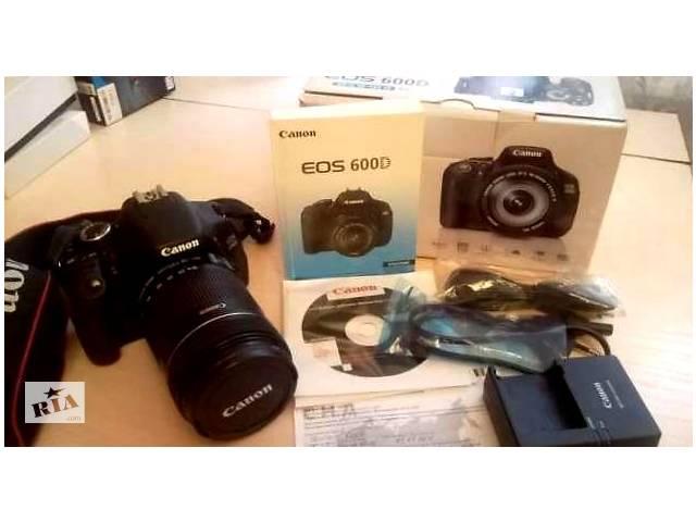 бу Фотоапарат Canon EOS 600D Kit в Кам'янець-Подільському