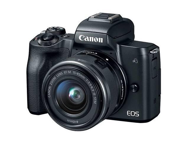 продам Фотоаппарат CANON EOS M50 + 15-45 IS STM + 22mm f/2.0 STM (2680C055) бу в Киеве