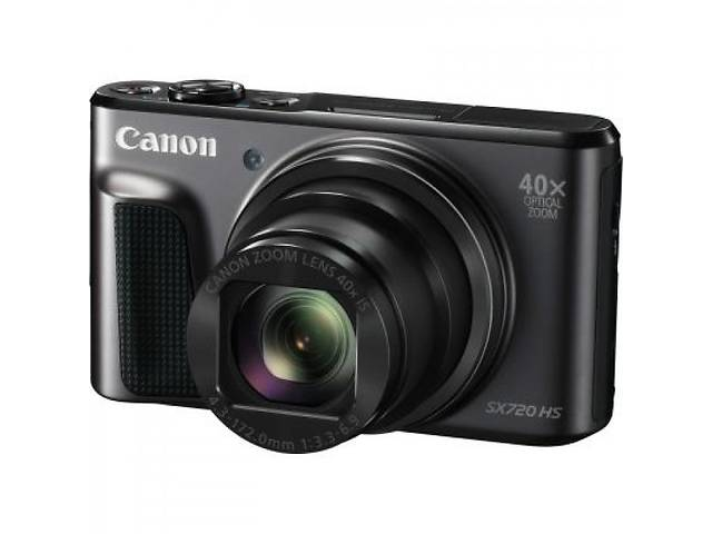 Фотоапарат Canon PowerShot SX720HS Black (1070C015AA)- объявление о продаже  в Харкові