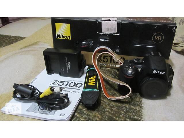 продам Фотоапарат NIKON D 5100 body! Суми! бу  в Україні