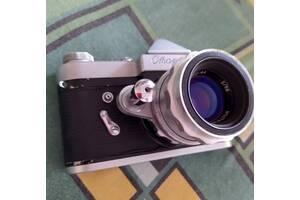 Фотоапарат Старт, об'єктив Геліос-44, експонометр Ленінград 2