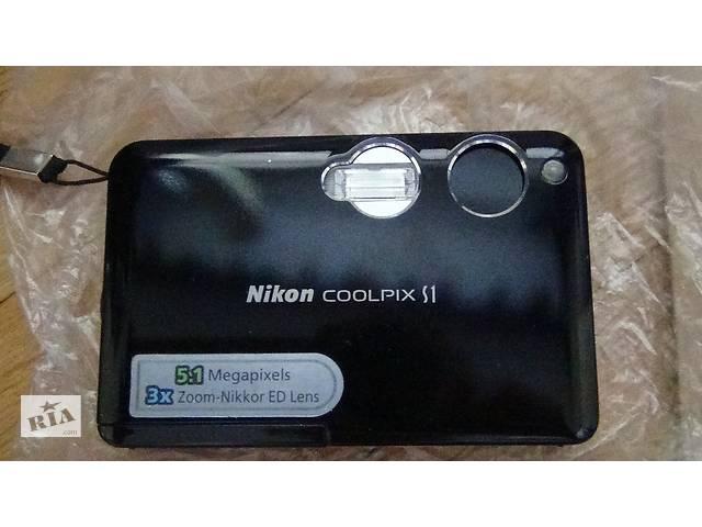 продам Фотоаппарат цифровой с функцией записи видео Nikon Coolpix S1 бу в Києві