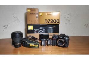 Фотокамера Nikon D7200 + 18-105 f/3.5 - 5.6 G ED