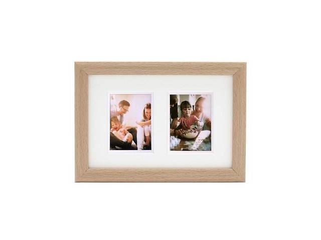 купить бу Фоторамка Fujifilm INSTAX TWIN MOUNT MINI FRAME – NATURAL (70100139116) в Харкові