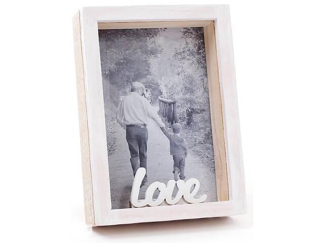 Фоторамка настольная Enjoy Moment Love фото 9х13см деревянная (psg_BD-493-580)- объявление о продаже  в Киеве