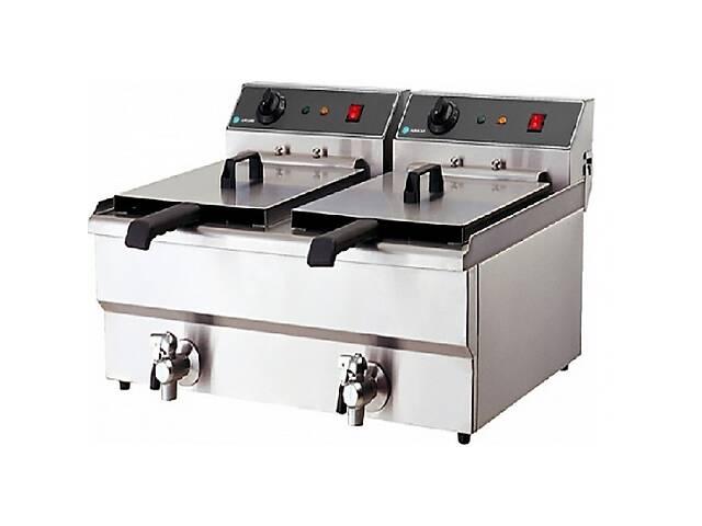 купить бу Фритюрниця HEF-101V-2 Unique Kitchen Equipment (професійна) в Києві
