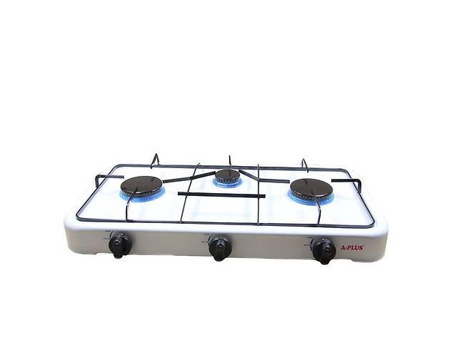 бу Газовая плита A-plus 2107, 3 конфорки в Харкові