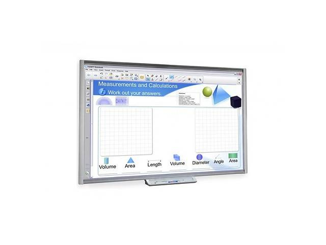 купить бу Інтерактивна дошка SMART Board SBM685V (M685V) в Днепре (Днепропетровск)