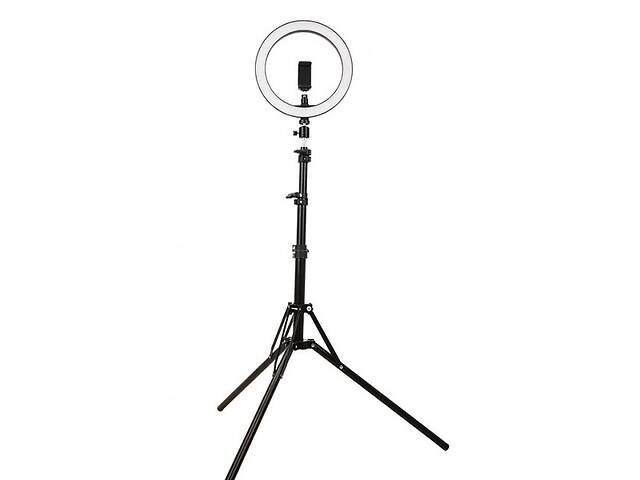 Кільцева лампа 26см зі штативом 2 метри- объявление о продаже  в Харкові