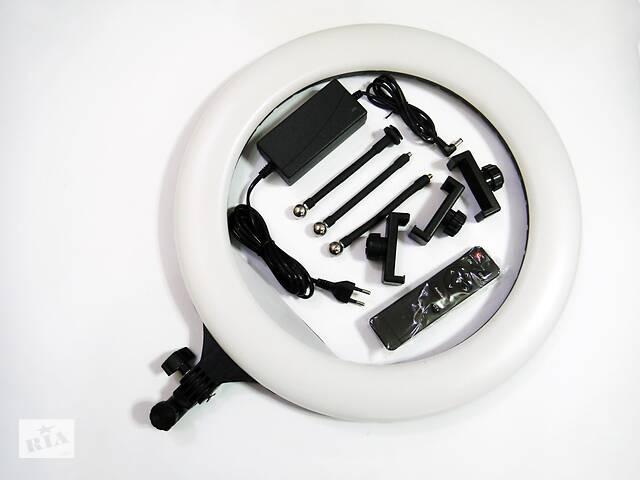 Кольцевая LED лампа YQ-460B 45см 220V 3 крепл.тел. + пульт- объявление о продаже  в Одессе