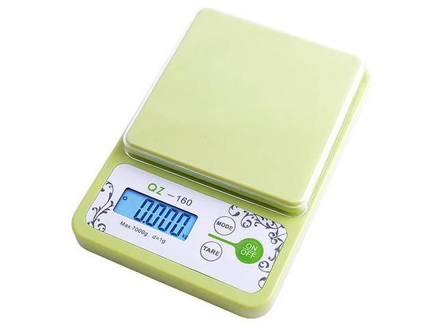 бу Кухонные весы Qz-160 до 10 кг с чашей и подсветкой (bks_01049) в Киеве