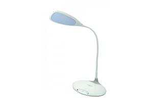Лампа настольная светодиодная LED Tiross TS-1802 3 режима свечения Белая (gr_005440)