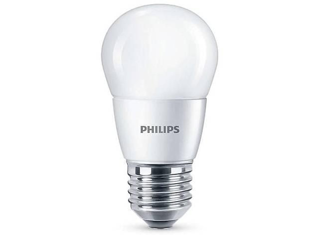 Лампа светодиодная Philips ESS LEDLuster 6.5-75W E27 840 P45NDFR RCA- объявление о продаже  в Киеве