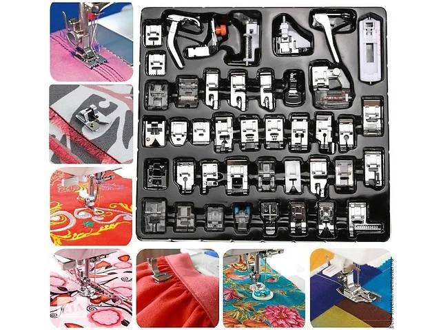 купить бу Лапки для швейної машинки 42шт. Великий набір в Мукачевому