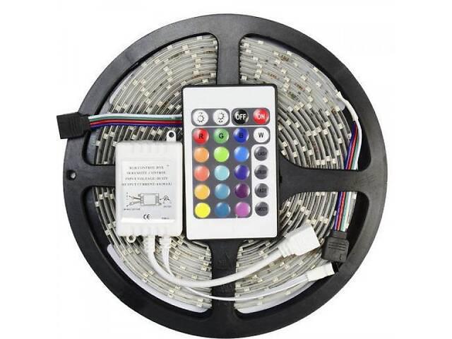 продам Лента светодиодная RGB 3528 5 метров Готовый комплект (44718-IM) бу в Киеве