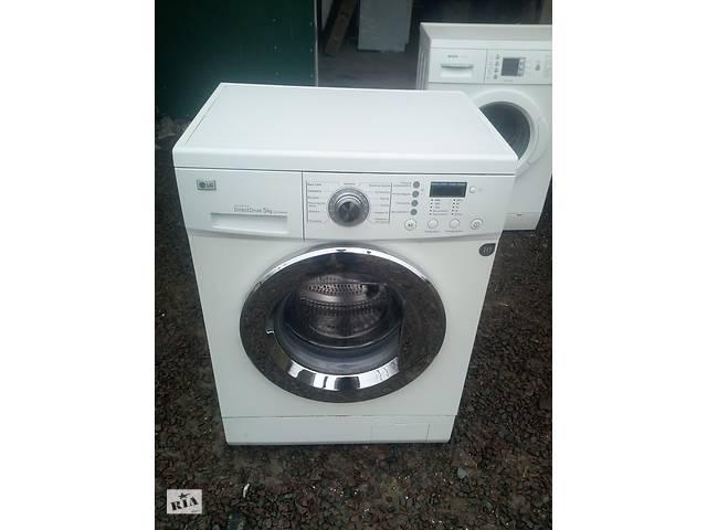 купить бу LG машинка пральна автомат вузька 45 см в глубину б.у з Європи в Кам'янці-Бузькій