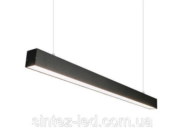 продам Линейный светодиодный подвесной светильник INNOVA 40W 4000K черный 1185mm 220V IP20Код.59763 бу в Києві