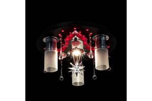 Люстра Космос с Led подсветкой P5-S0839/31/CHBKWT