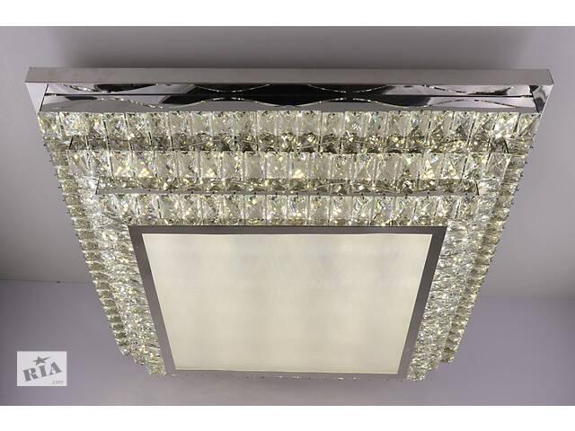 продам Люстра потолочная хрустальная Led с пультом C1869/800800-ch Хром 18х80х80 см. бу в Одессе