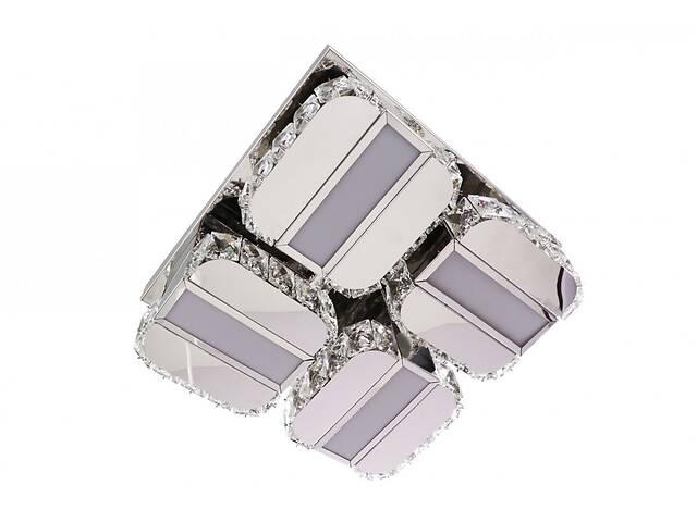 купить бу Люстра потолочная хрустальная Led с пультом C2060/350 Хром 14х33х33 см. в Одессе