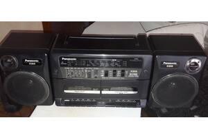 Магнитола - Panasonic RX-CT820. двух кассетная.