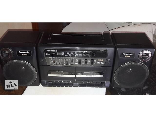 бу Магнитола - Panasonic RX-CT820. двух кассетная.  в Киеве