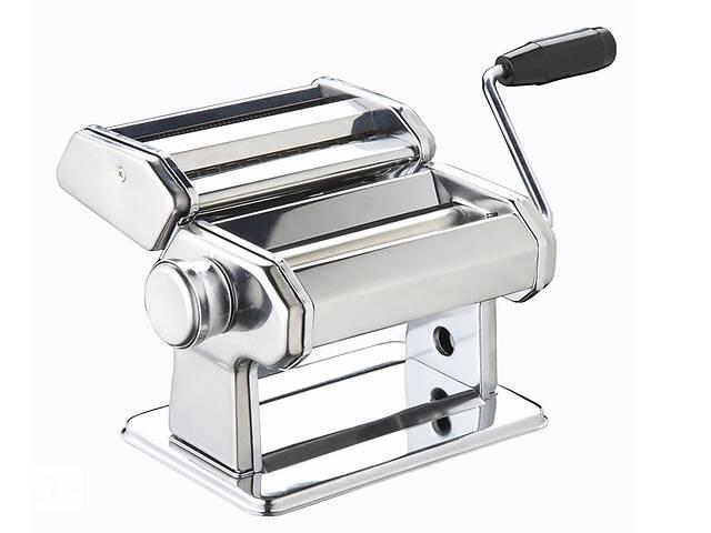 продам Машина для приготовления пасты KitchenCraft WFIT Deluxe с двумя насадками Серебристая (160591) бу в Киеве