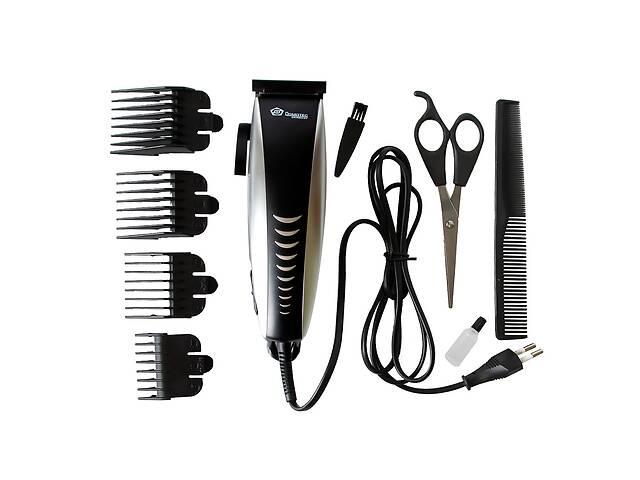 купить бу Машинка для стрижки волос Domotec MS 4604 Черно-серый в Харькове
