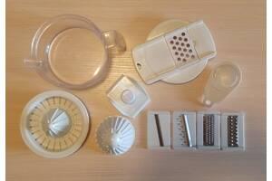 Багатофункціональна овочерізка терка кухонний комбайн механічний ручний