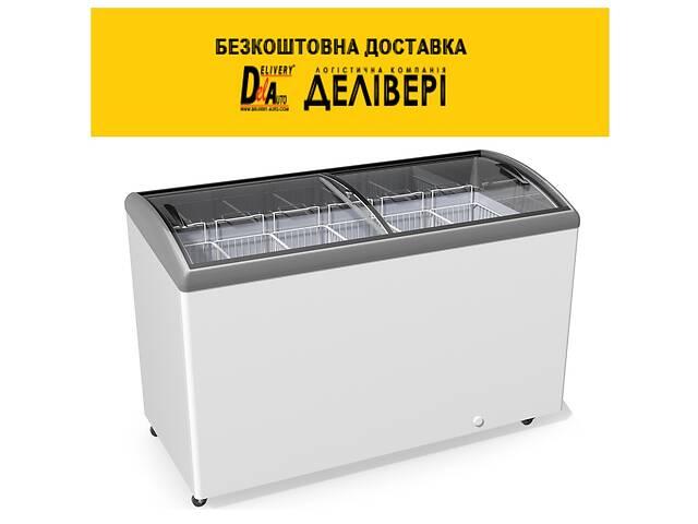 продам Морозильна скриня JUKA M 600 S, 7 кошиків, гнуте скло, підсвічування бу в Києві