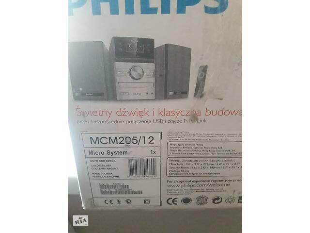 Музыкальный центр Philips MCM205/12- объявление о продаже  в Виннице