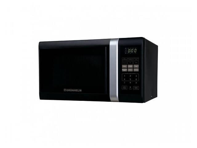 продам Микроволновая электронная печь Grunhelm 23MX823-B маленькая микроволновка бу в Харкові