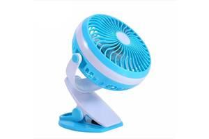 Мини-вентилятор Mini Fan ML-F168 Usb с аккумулятором на прищепке SKL11-241283