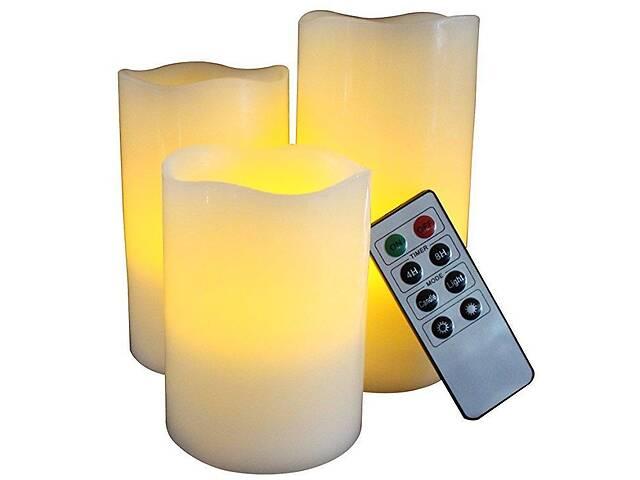 бу Набор из 3 свечей  Supretto с пультом (4570) в Киеве