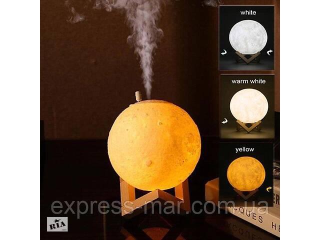 Настольный светильник ночник луна 3D с увлажнителем воздуха- объявление о продаже  в Харькове